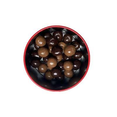 LesNoisettes au chocolat noir et chocolat lait Boutique en ligne Boutique Gourmande Georges Blanc Chocolat Fait maison Recette traditionnelle Gourmandise