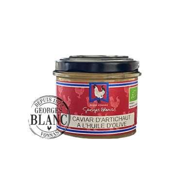 Caviar d'artichaut à l'huile d'olive BIO