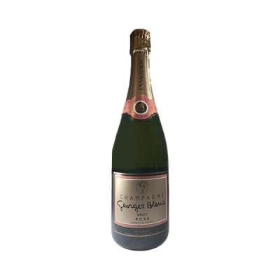 Champagne Rosé Duval Leroy Georges Blanc