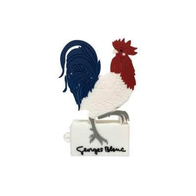 Clé Usb Coq Georges Blanc