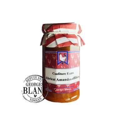Confiture extra d'abricot amandes effilées -  Georges Blanc – Boutique gourmande -Recette traditionnelle