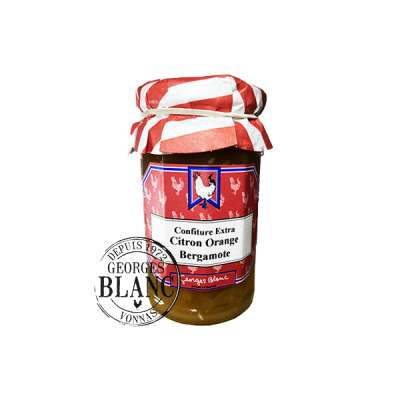 Confiture Extra Citron Orange Bergamote