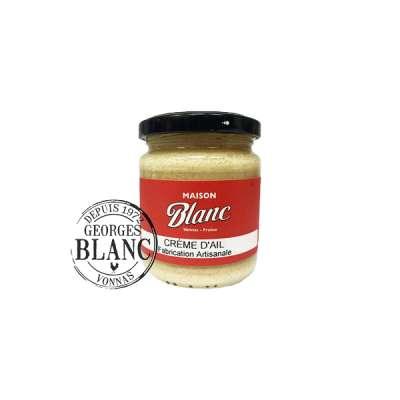Crème d'aïl - Boutique Gourmande Georges Blanc  -Recette Poisson Georges Blanc Vonnas Lyon