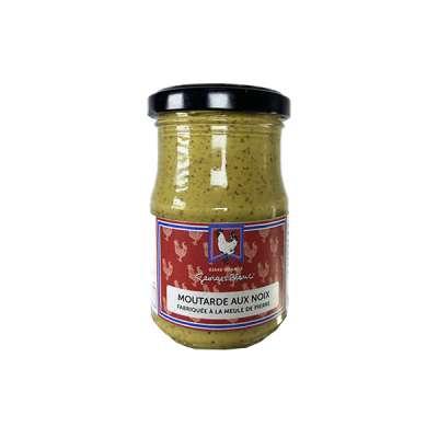 Moutarde aux noix Fabriquée à la meule de pierre