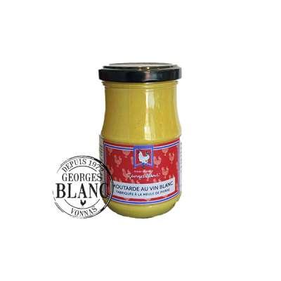 Moutarde au vin blanc Fabriquée à la meule de pierre