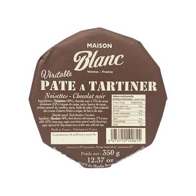 Véritable Pâte à Tartiner Noisettes-chocolat noir