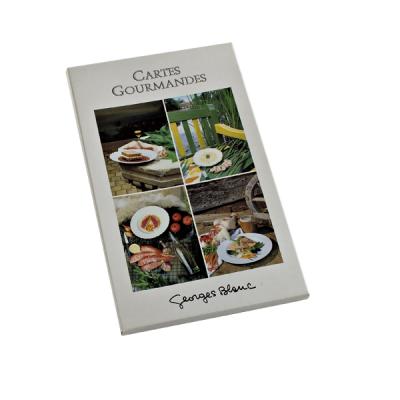 """Cartes Gourmandes """"Cuisine des Saisons"""""""