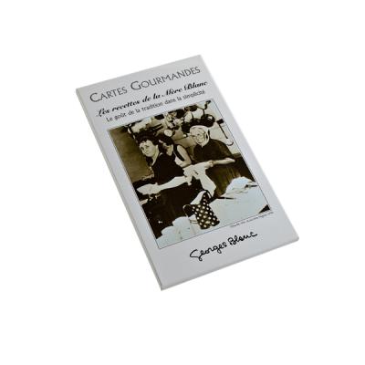 """Cartes Gourmandes """"Recettes de la Mère Blanc"""""""