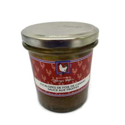 Escalopes de Foie de Canard aux Truffes