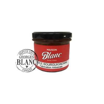 Sauce bourguignonne Maison Blanc  Boutique Gourmande Georges Blanc Boutique en ligne Produits de qualités Produits Gastronomique Recette traditionnelle Lyon Vonnas Fait maison