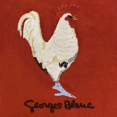 Tablier Georges Blanc-Rouge