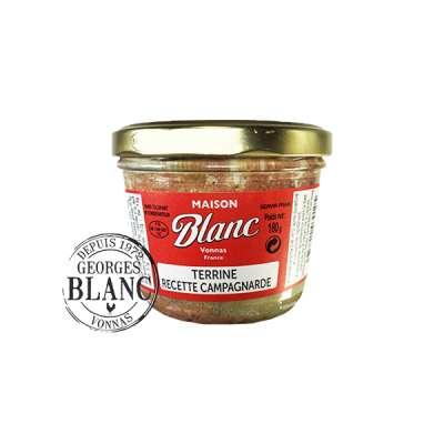 Terrine recette campagnarde Georges Blanc