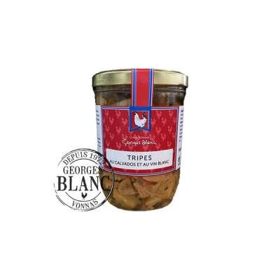 Tripes au Calvados et au Vin Blanc Boutique Gourmande Georges Blanc Vonnas Lyon. Recette traditionnelle Plat fait maison Boutique en ligne