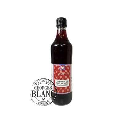 Vinaigre de vin rouge aromatisé à la framboise