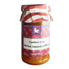 Confiture extra d'abricot amandes effilées