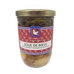 Joue de Boeuf ses légumes et sa sauce au vin rouge