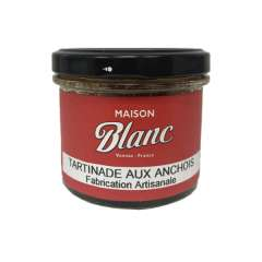 Tartinade aux anchois Fabrication Artisanale