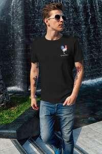 Tee-Shirt Coton Bio Noir Homme